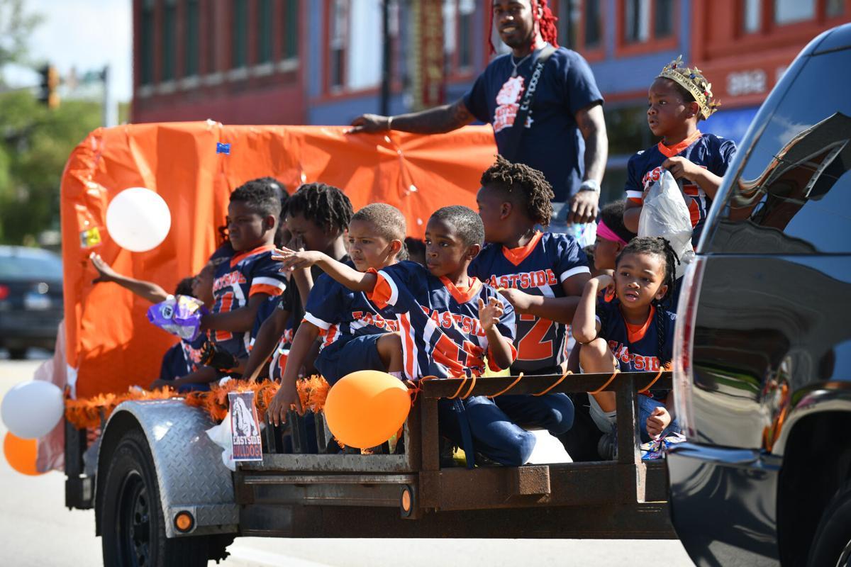 Eastside Bulldogs celebrate in style