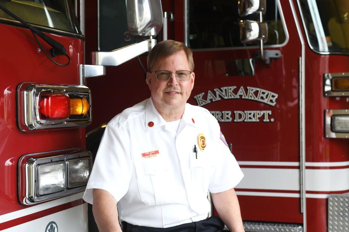 Kankakee Fire Chief Damon Schuldt