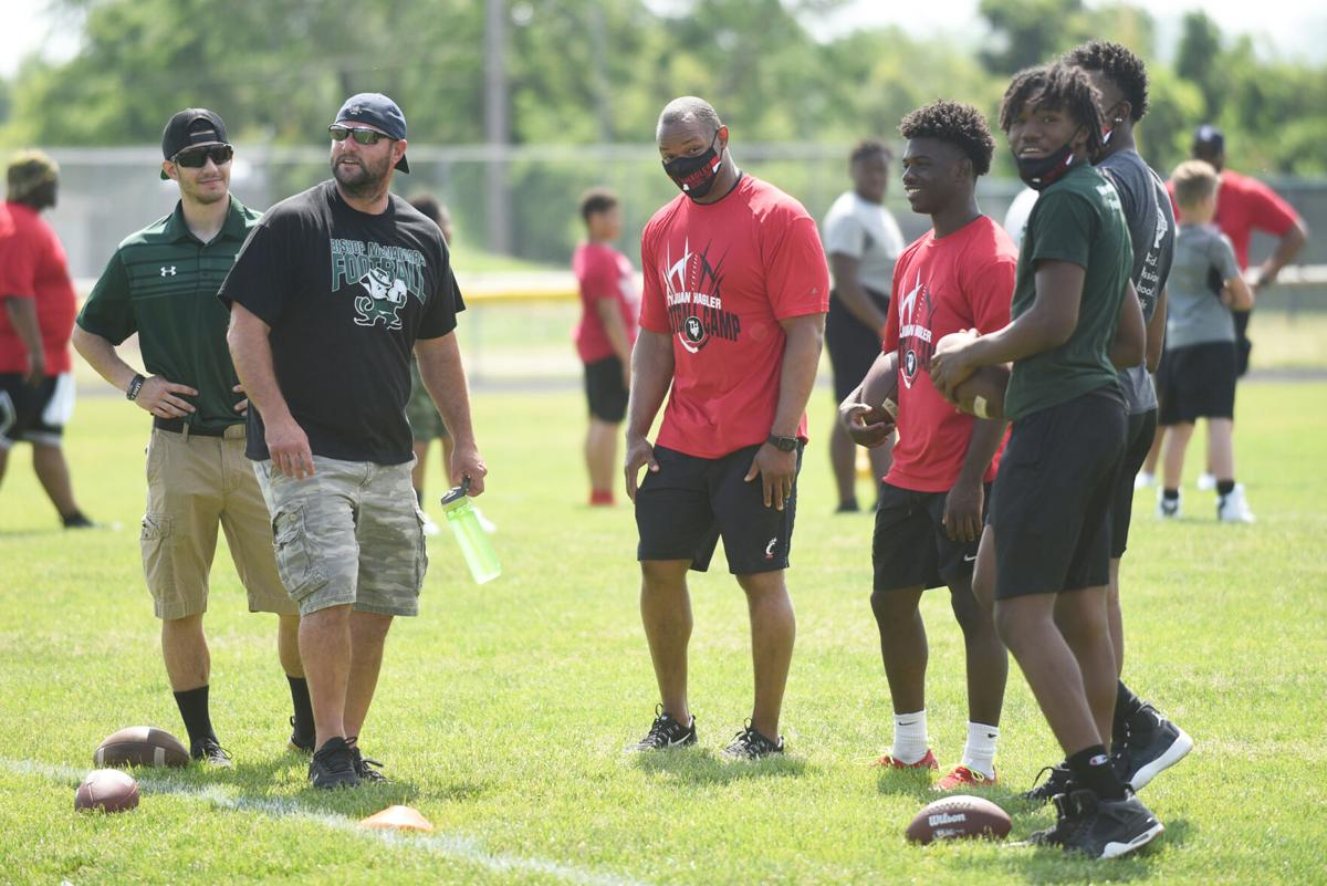 Hagler returns for 14th annual free football and cheer camp