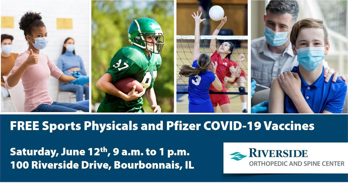 Riverside sports physicals and vaccinations for students,  June 12, 2021