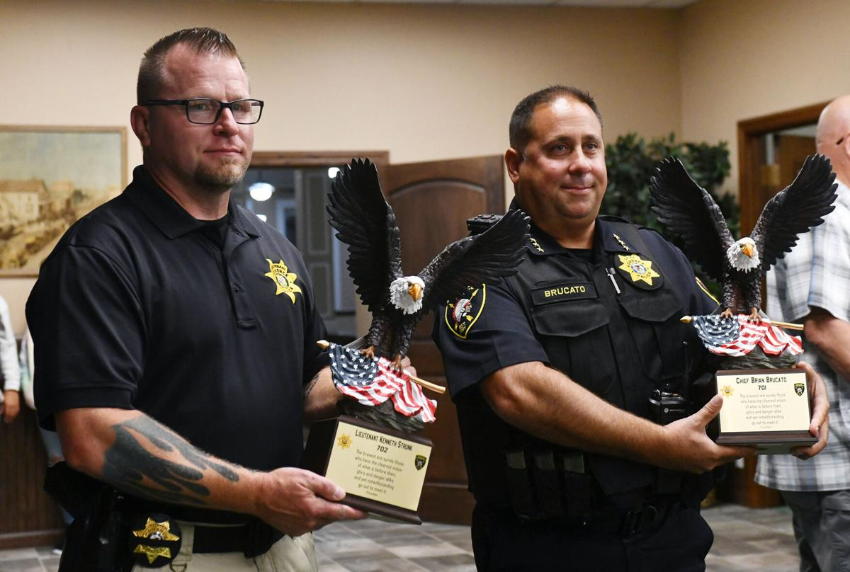 Momence Police officers honored for bravery