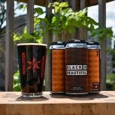 Black is Beautiful from Revolution Brewing