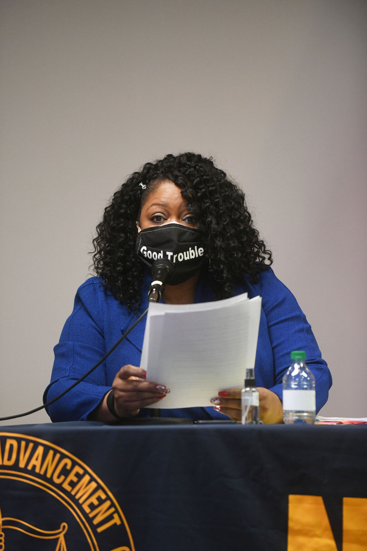 NAACP mayoral candidates forum