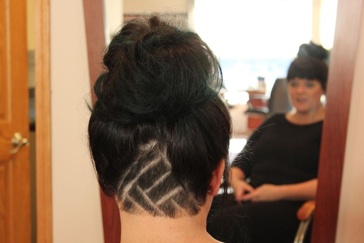 Back Of Head Shaved Hairstyles