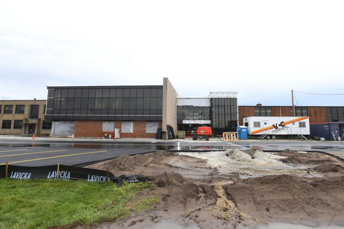 Limestone Middle School construction