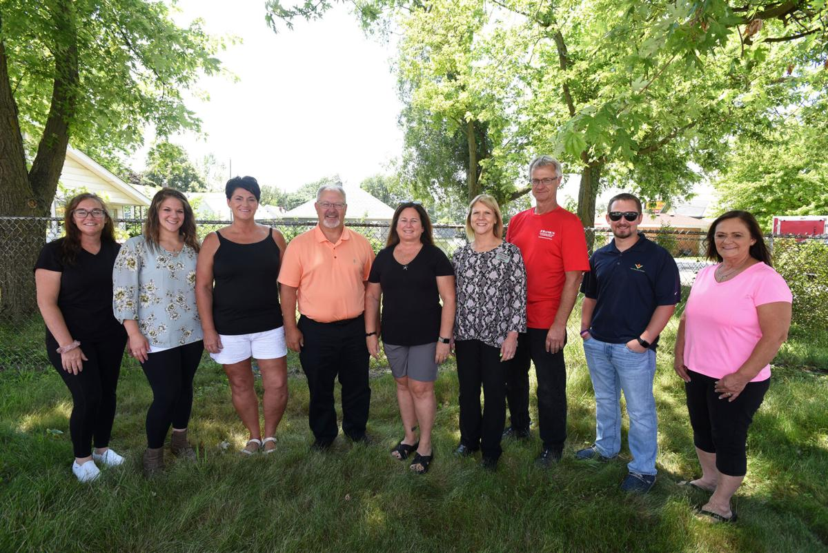 Family weight loss group - yard