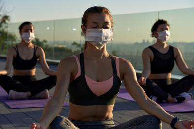 Face mask yoga