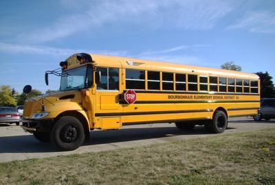 Bourbonnais Elementary School District #53 School Bus