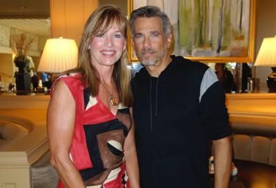 Pam Powell and Robby Benson