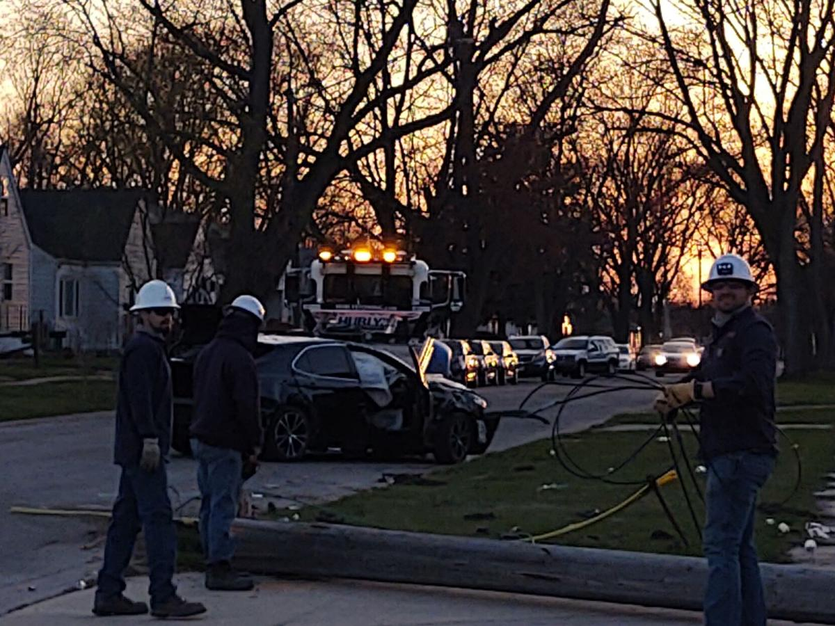 April 2 shooting and crash