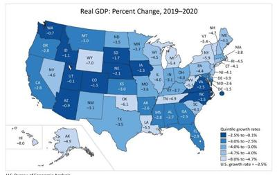 Illinois economy shrinks 4% in 2020 despite 4th quarter growth