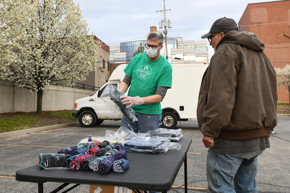 Fortitude grants clothing with United Way funds