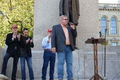 State Sen. Darren Bailey announces campaign for governor