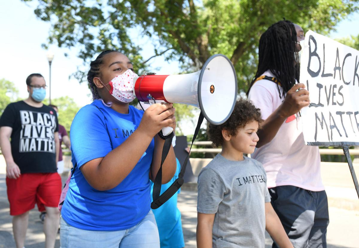 Youth voices carry weekend protest