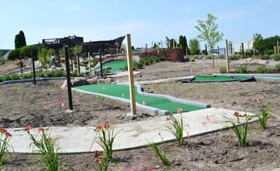 Adventure Mini-Golf opens