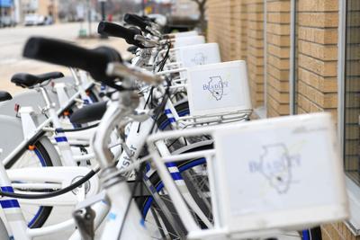 Bradley Village Hall bikes