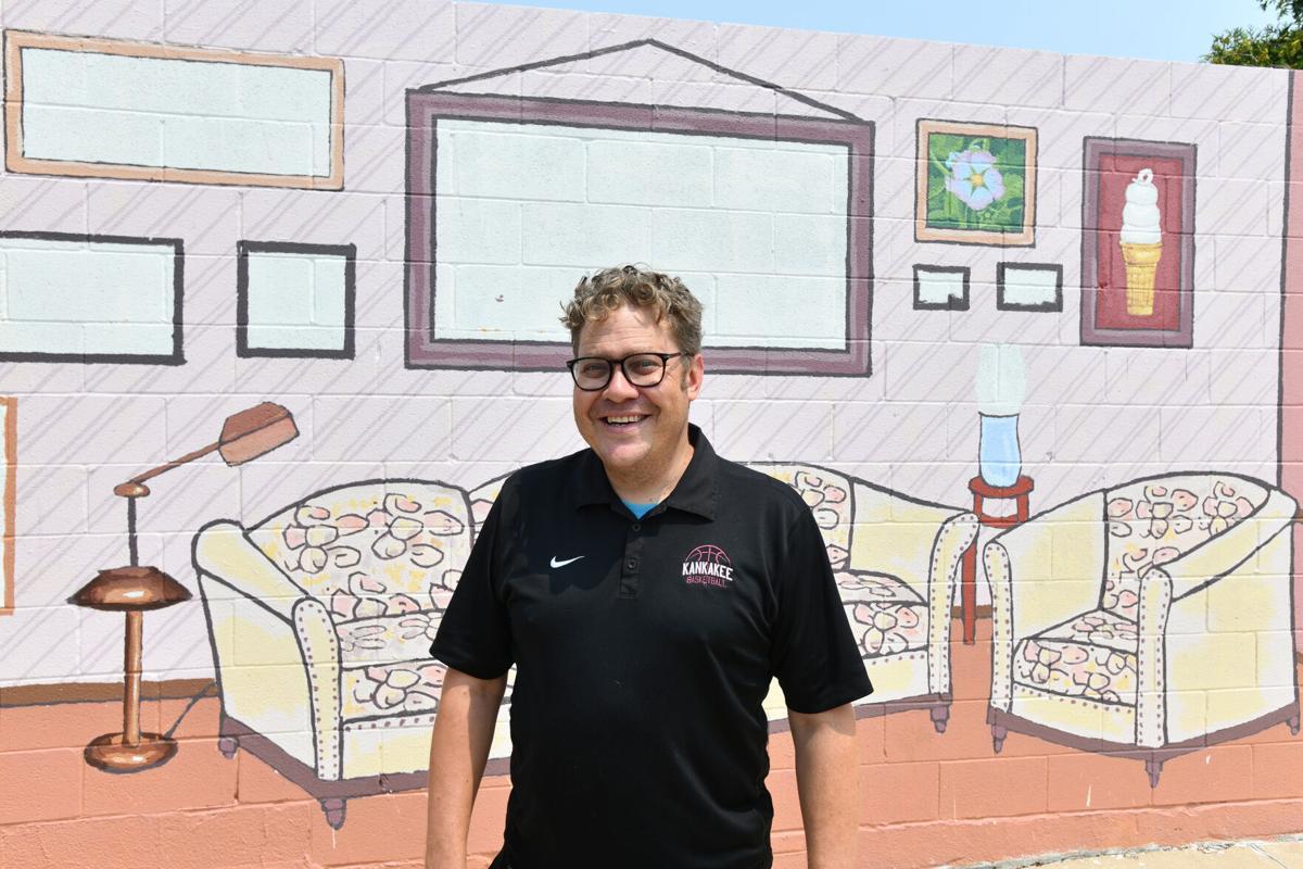 Bill Yohnka downtown mural