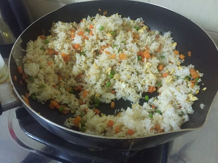Cambodian fried rice