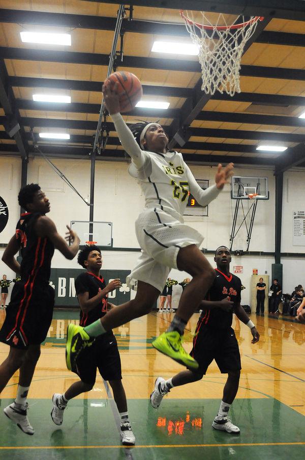 Boys High School Basketball St Rita Flies Past Bishop