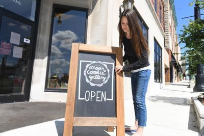 Moon Cookie Gallery open 1