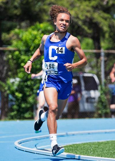 Clifton Central's Isaiah Ditta at State Track