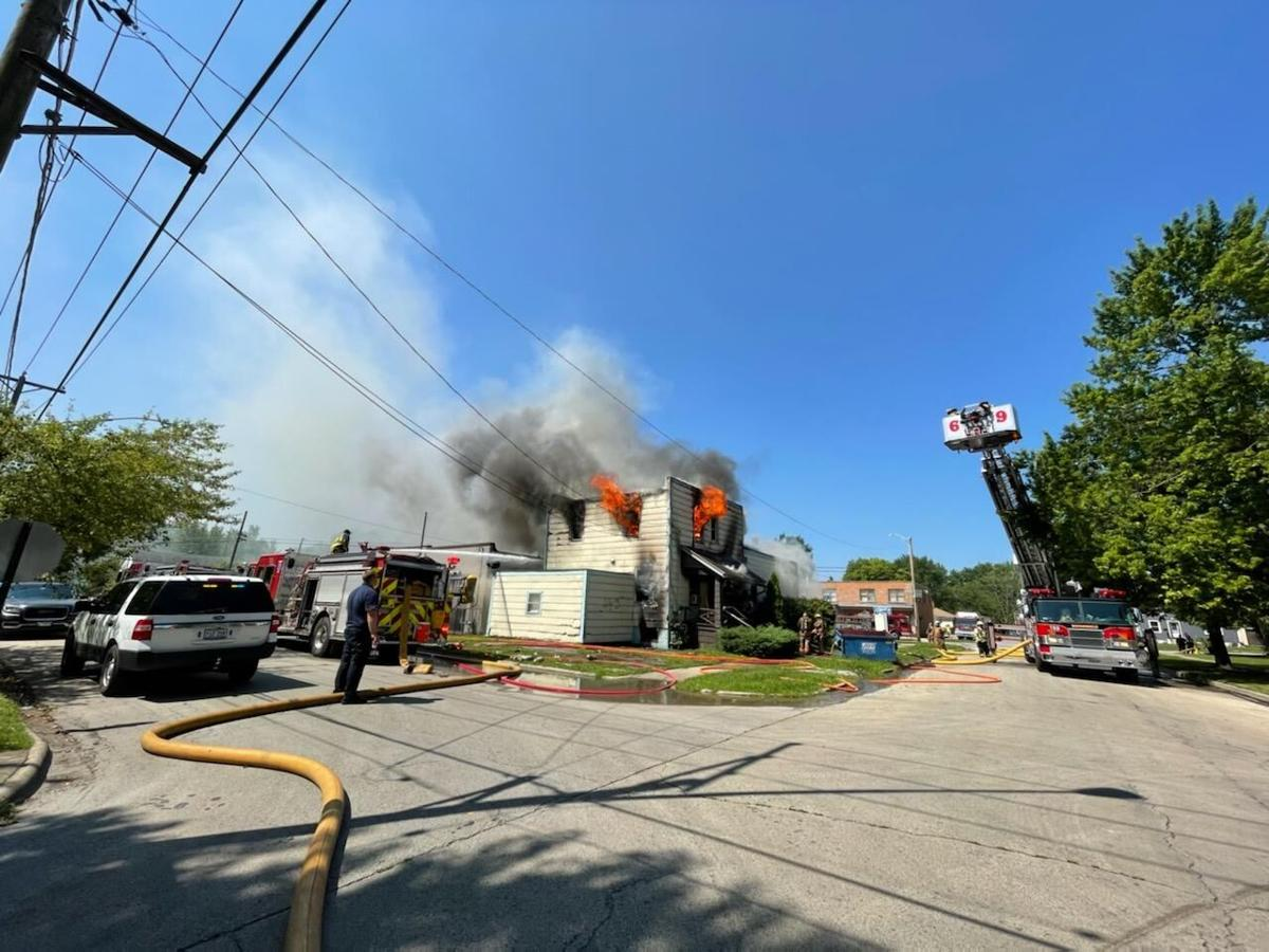 Second fire in Kankakee residence