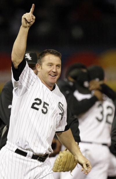Chicago White Sox's Jim Thome