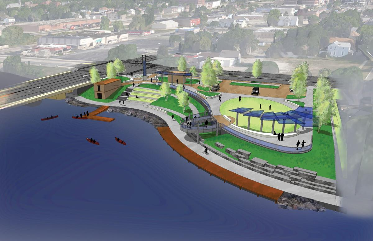 Proposed Riverwalk project