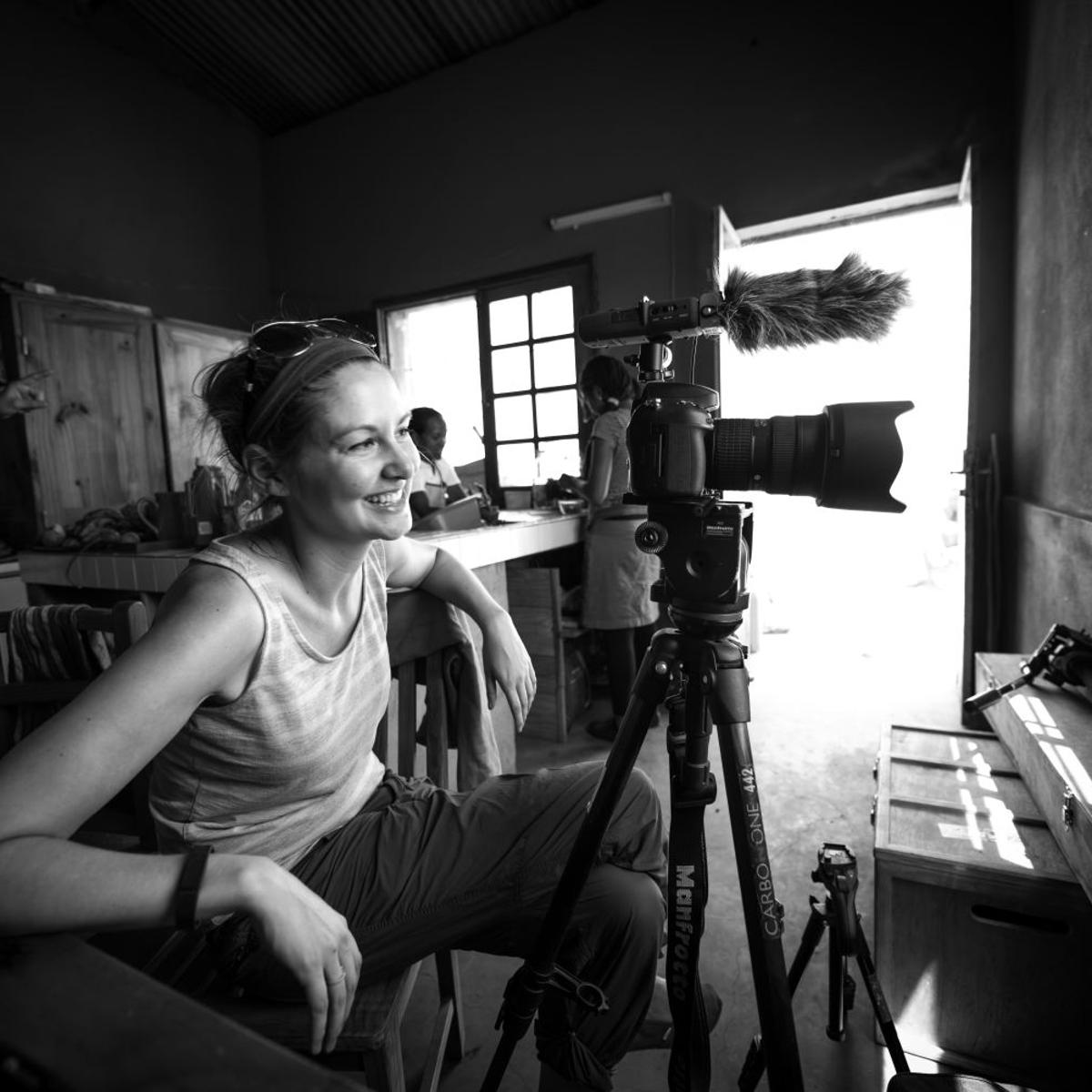 Herscher videographer shoots medical care mission in Africa