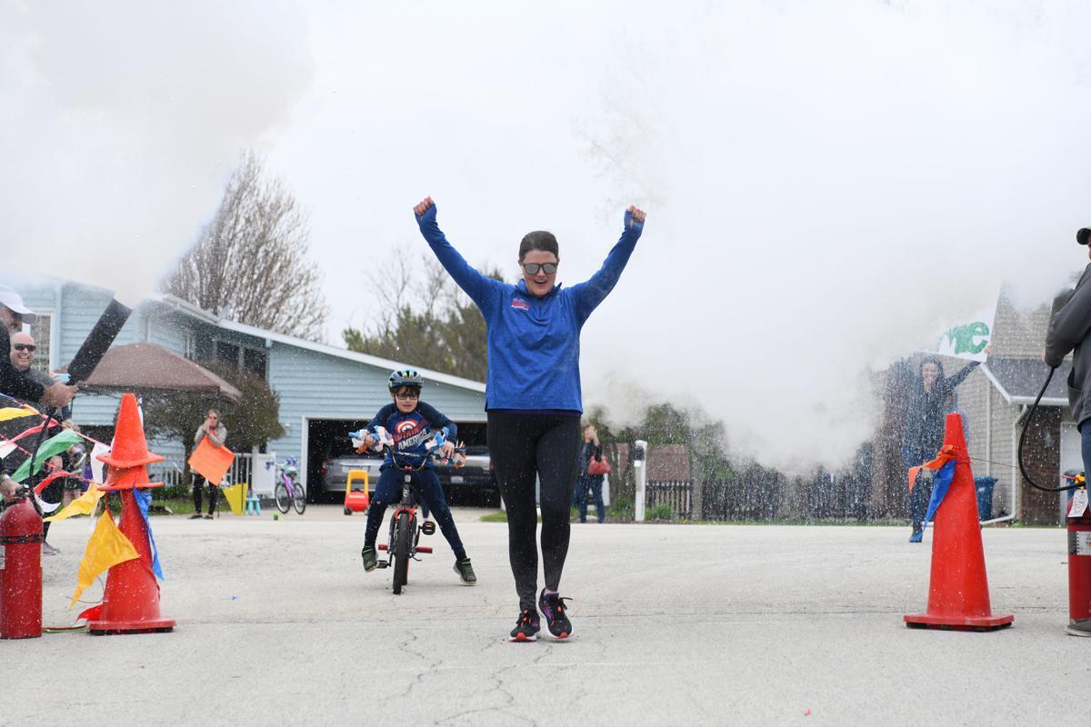 26.2 miles for Mattea