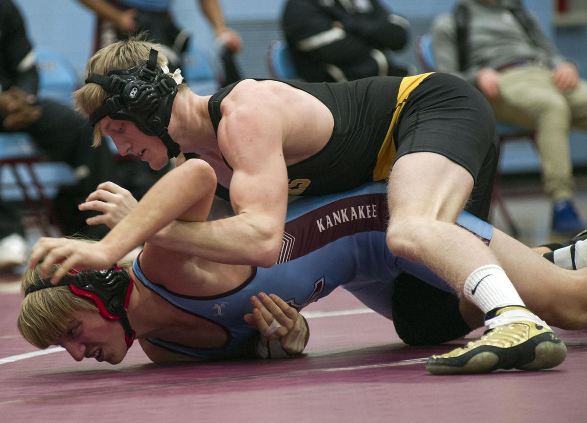 Herscher vs Kankakee Wrestling