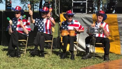 Good Shepherd Manor - patriotic performance