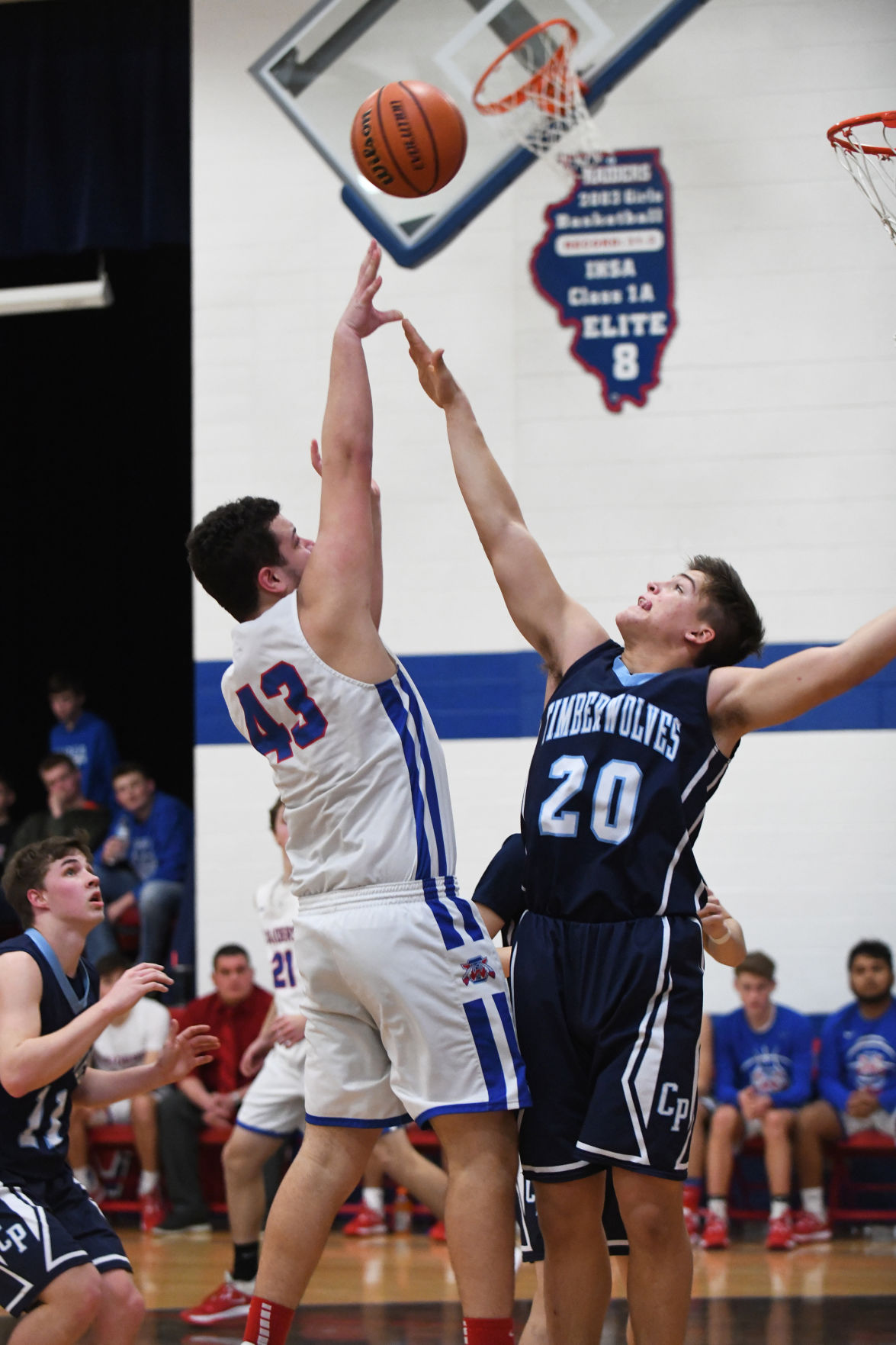 Boys Basketball: Iroquois West vs. Cissna Park