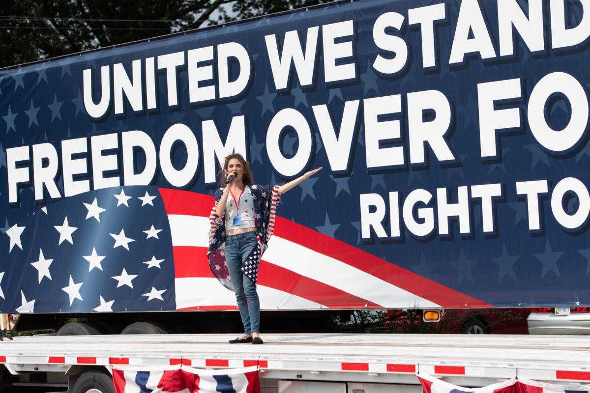 Dueling protests: Freedom Rally met with counter-protestors