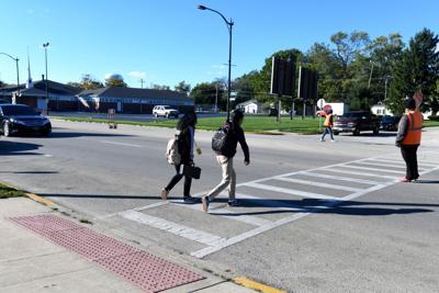 King Middle Grade School crossing