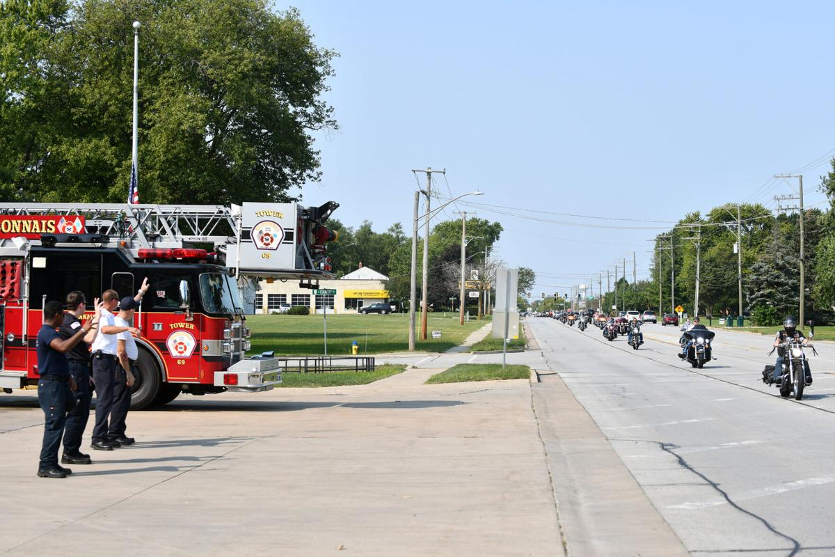 Ride to salute: Riders honor first responders on 9/11 anniversary
