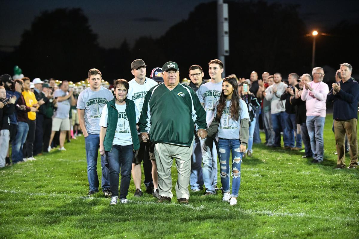 Football: Bishop McNamara's Rich Zinanni final home game