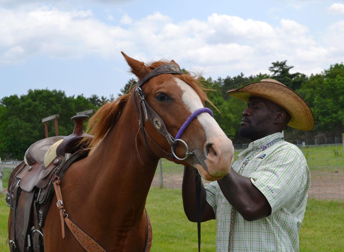 At-risk youth connect with rescue horses