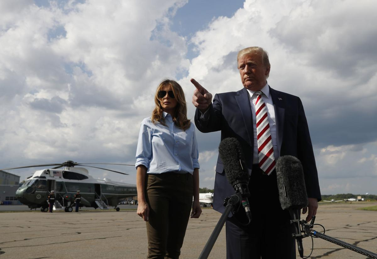 Trump says he wants stronger gun checks but gives no details