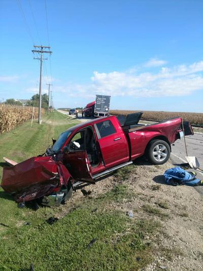 Route 115 crash at Lehigh Road