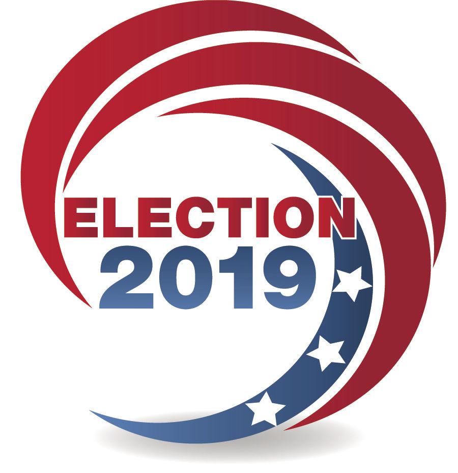 Election 2019 logo for print