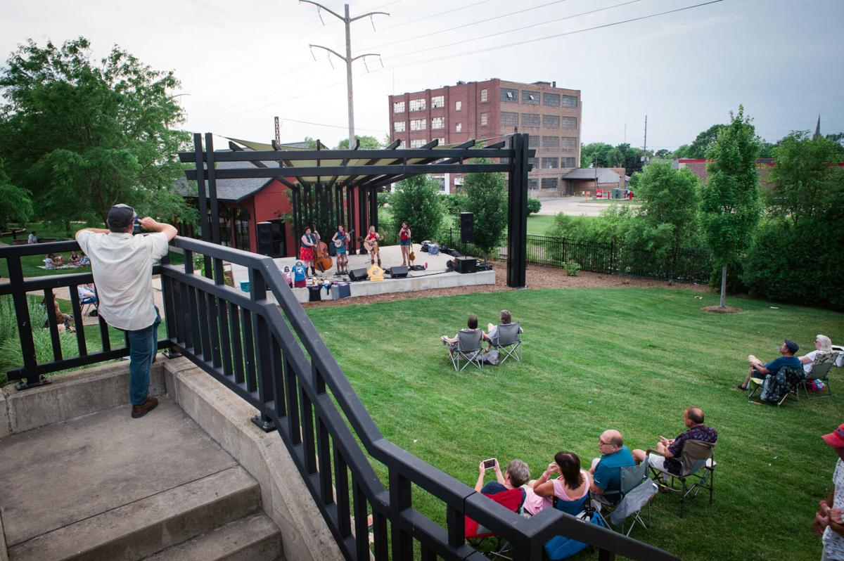Music on the lawn: Summer Concert Series kicks off in downtown Kankakaee