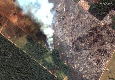 Bolsonaro prepares to send army to contain Amazon fires