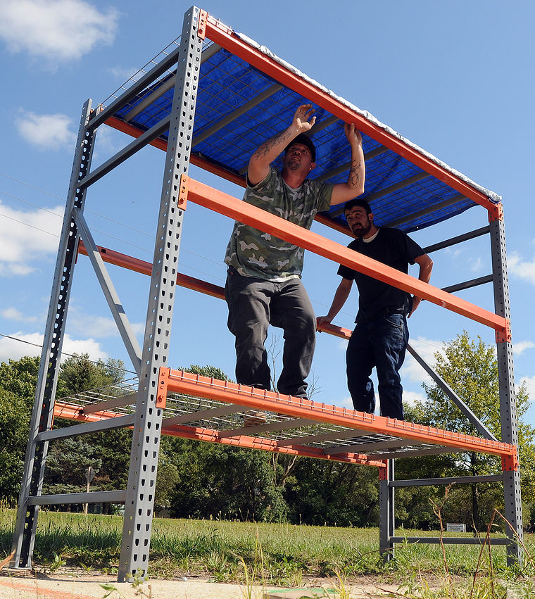 Shelve your idea for new deer stand local news daily for How to build a tree stand from a pallet