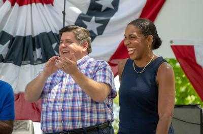 Pritzker, Stratton announce reelection bid