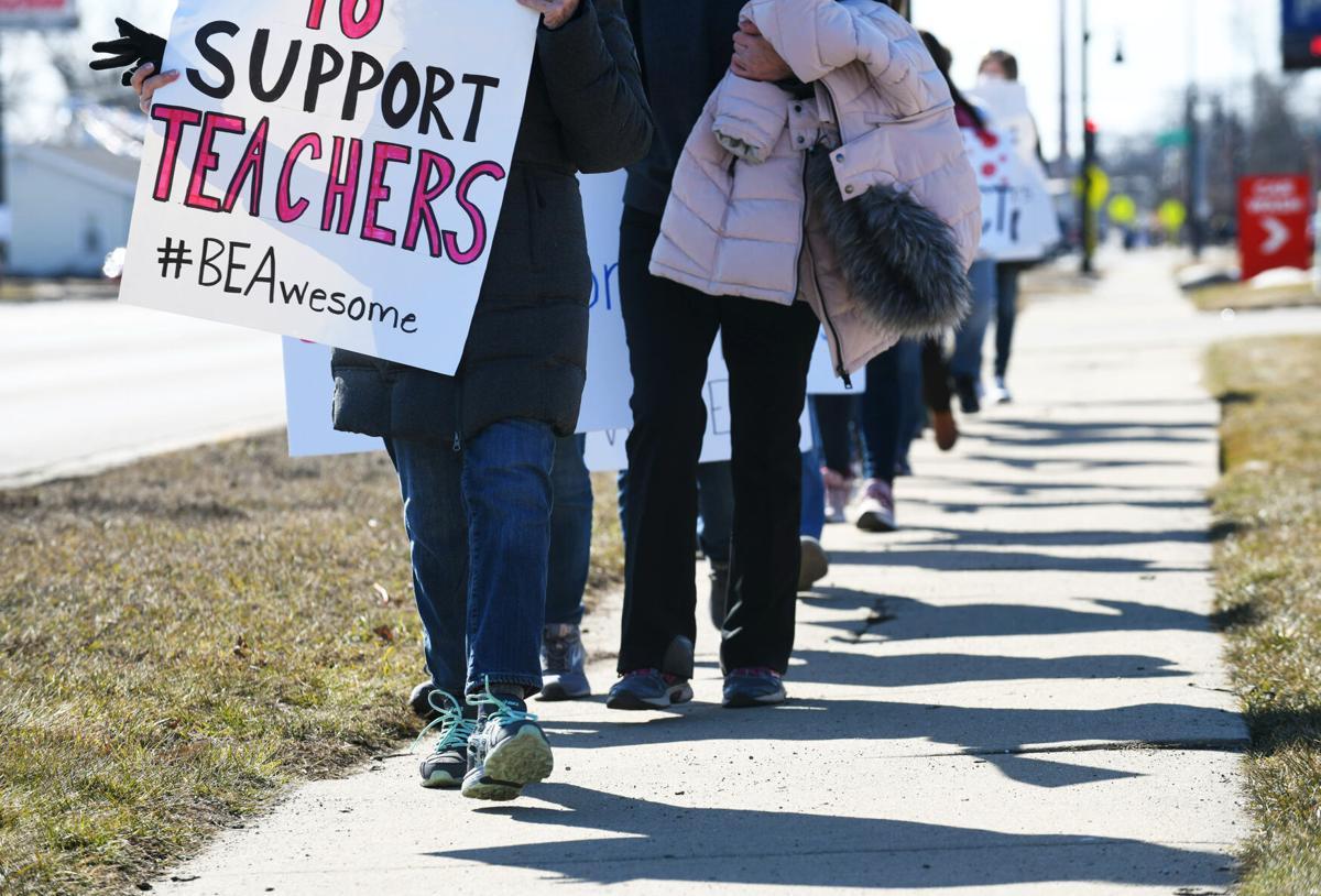 BESD teachers strike