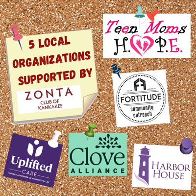 5 local organizations supported by Zonta