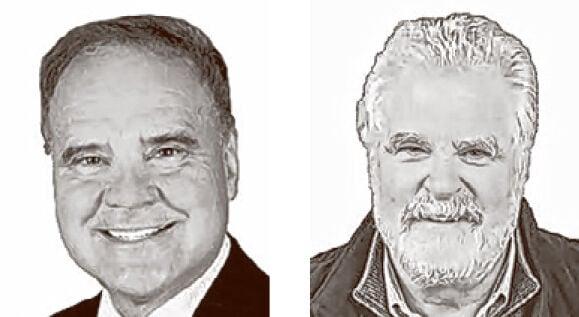 Joe Yurgine and Ken Johnston