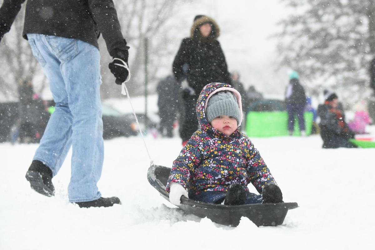 Snow-packed fun at Helgeson