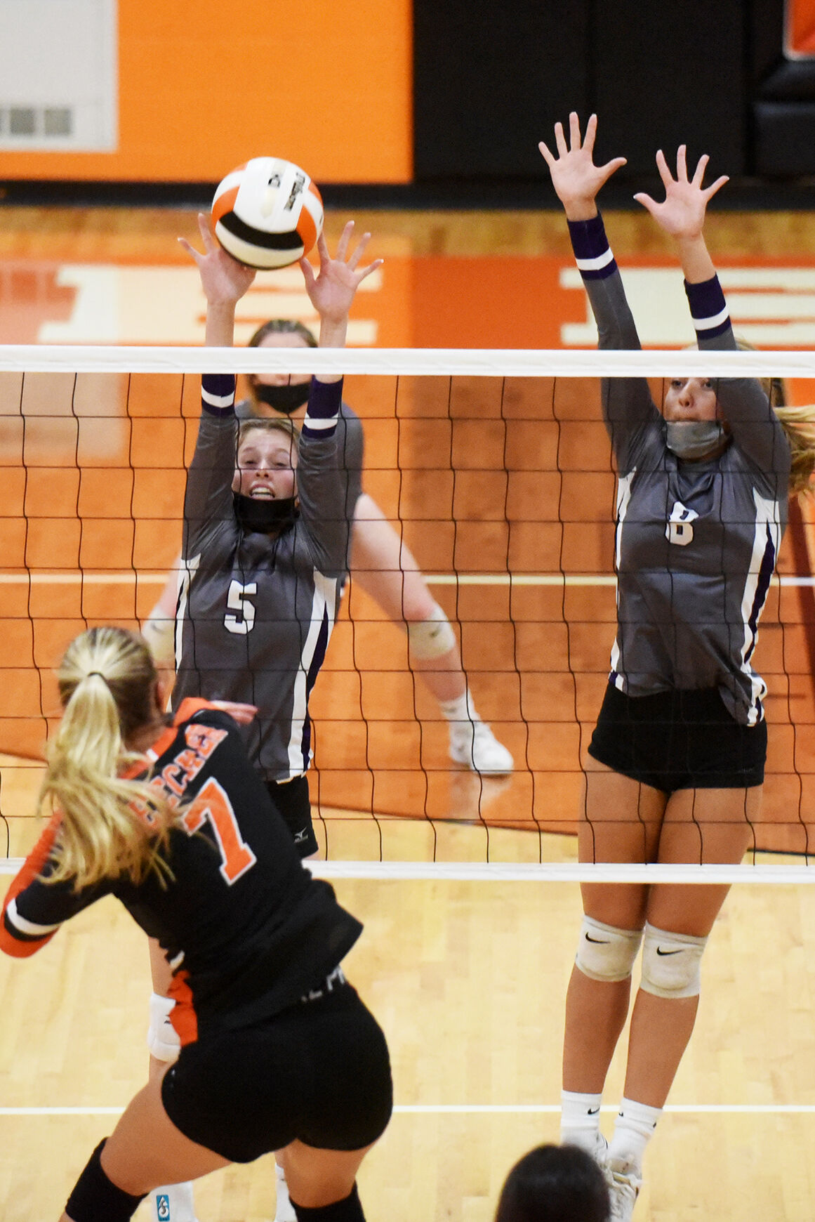 Beecher vs. Wilmington volleyball